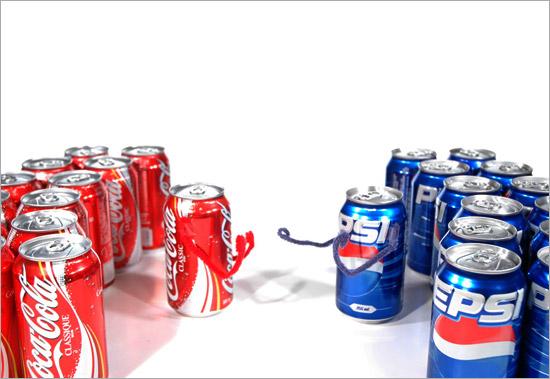 La Guerra de las Sodas de los 80´s: COCA COLA vs PEPSI